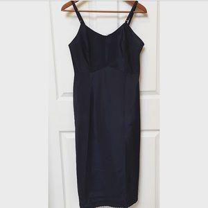 Vintage 60s Scalloped Slip Dress